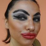 Ужасный макияж